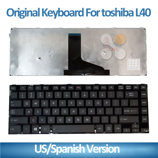 New brand Laptop internal keyboard for Toshiba L40 L50 series notebook computer keyboard SP/LA/FR/UK/US/AR