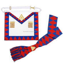Royal Arch apron with sash, Masonic Regalia, Royal Arch Regalia