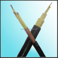 Copper PVC screen control cable