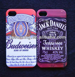 New designed beer case cover for iphone 4g 4s