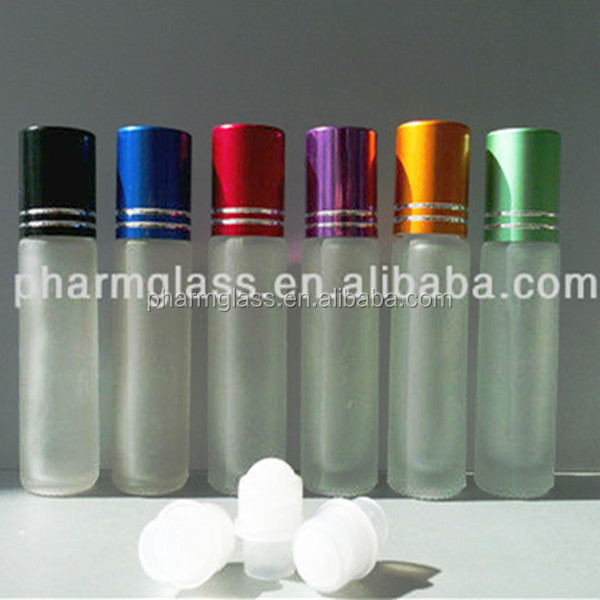 Whole China supplier with low price and good quality various of roll on bottle in clear blue color