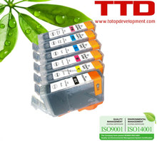 TTD Compatible Ink Cartridge BCI-3 BCI-6 for Canon S800/820/820D/900/9000/I950/I9100(BJF-860/870)/IP8500 /I9100