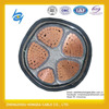 5 core PVC/XLPE insulated 150mm2 Aluminum/Copper tape Low voltage power cable for construction