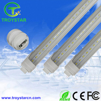 3 years warranty warm white t8 led tube light R17D single pin f96t12 replacement led tube led