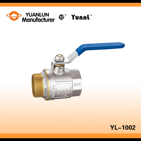 Ce Approved Forged Brass Ball Valve For Water And Gas With Steel Handle One Way Valve,Hand Valve,Pressure Control Valve