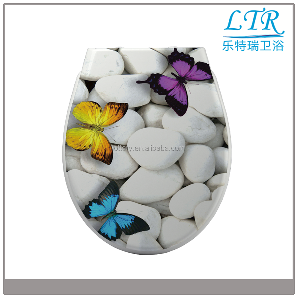 Novelty wc uf kids rimless kids toilet seat covers