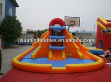 cheap price sport basketball hoop inflatable pool