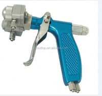 Ningbo air tools 2015 indian manufacturer from india mini chrome double nozzle spray gun