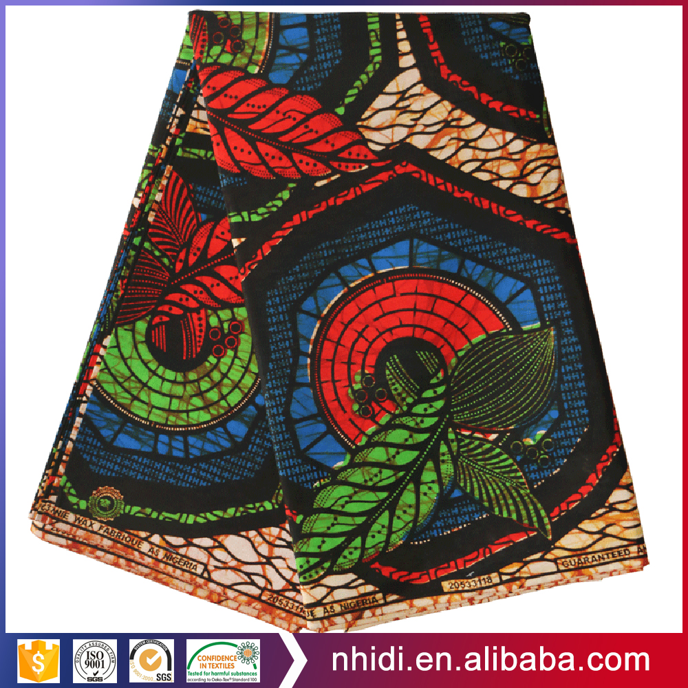 100% cotton chitenge real java super England ankara printed hitarget wax textile