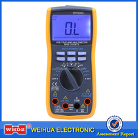 Digital Multimeter WH5000 with USB Interface with Backlight with Magnet hang auto range