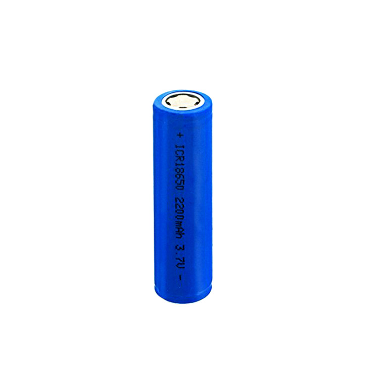 Li-ion battery cell 18650 2600mAh rechargeable lithium battery