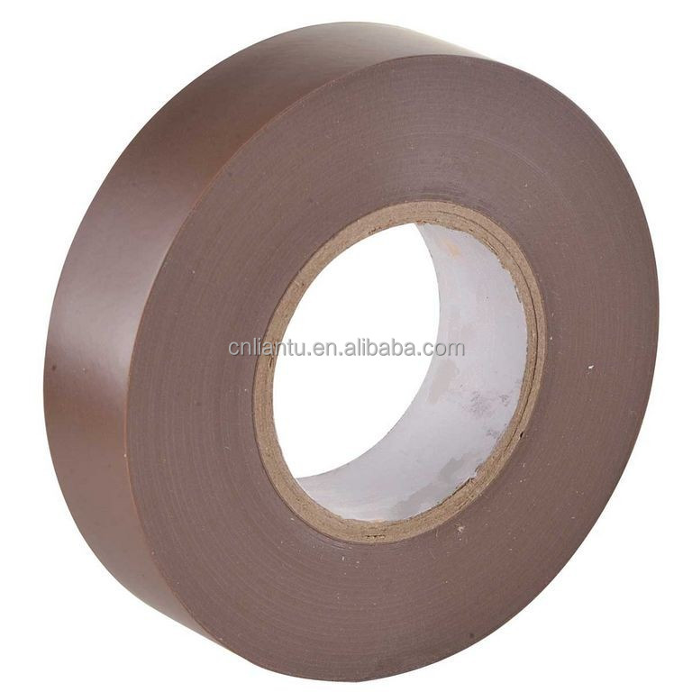 pvc color tape masking colorful tape black red blue green brown gray tape