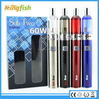 New product ego now arctic sub ohm tank 2200 mah battery max vapor electronic cigarette for china wholesale