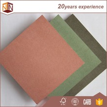 18mm colored mdf fireproof mdf fire resistant red mdf