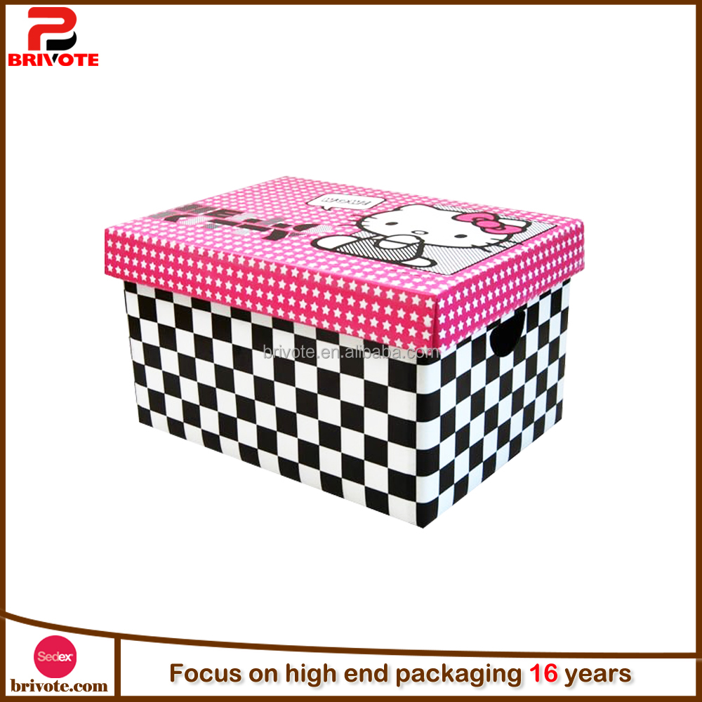 Paper pull out gift box storage box/stack storage box/decorative storage boxes wholesale