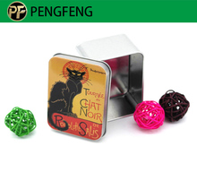 Factory price small metal gift tin box packaging
