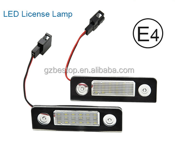 led Licence plate light for MK2 C-MAX led license plate light