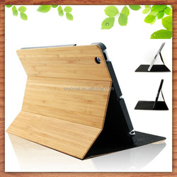 Eco-friendly healthy green natural full bamboo stand tablet PC protective case for Apple iPad Pro 12.9 inch-Worknet