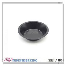 Super premiun quality 4.3 inch factory price small hamburger baking tray , round shape pizza pans,bakeware pan