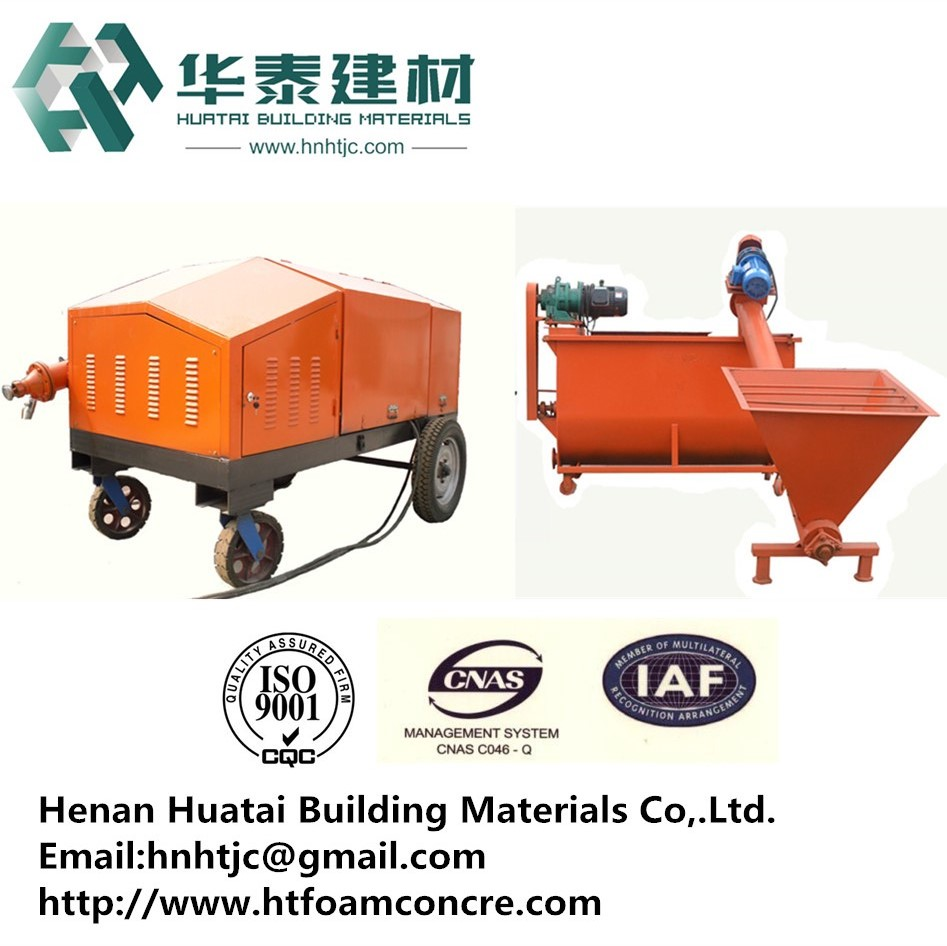distributors agents required road construction equipment for Foam Concrete Generator mixer HT-18