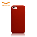 Soft touch liquid silicone and PC case for Iphone