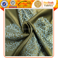 100 polyester new design drapery jacquard fabric for window curtain