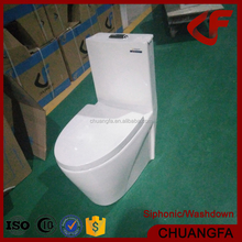 Bathroom Muslim washdown one-piece toilet with customized bidet function