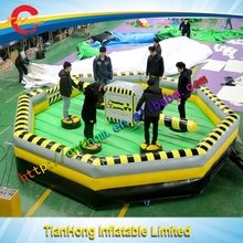 new design inflatable wipe out game/hot selling inflatable gladiator/inflatable melt down for sale