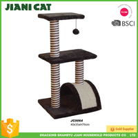 China Made Hand Made Wooden Cat Tree House
