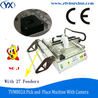 Wide Selection SMD Components TVM802A High Precision Printer Reflow Oven With SMT Production Line and Camera Smd Line