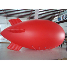 promotion inflatable red zeppelin blimp