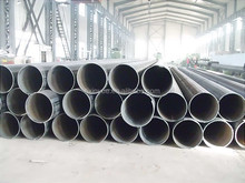 Large Diameter Thick Wall LSAW Welded Steel pipe/schedule 80 carbon steel pipe/large diameter corrugated steel pipe