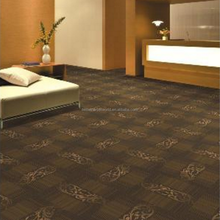 Non Woven Backing Modular Carpet Tile With Cushion Backing For Office Meeting Room