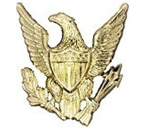 Eagle With Arrows police emblem