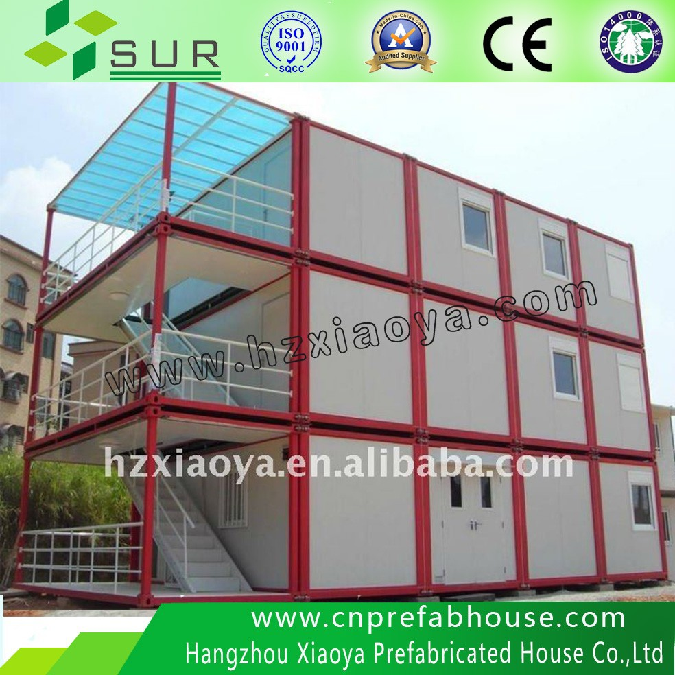 CE BV TUV 20 ft modular house container homes