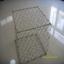Hexagonal hole shape gabion baskets