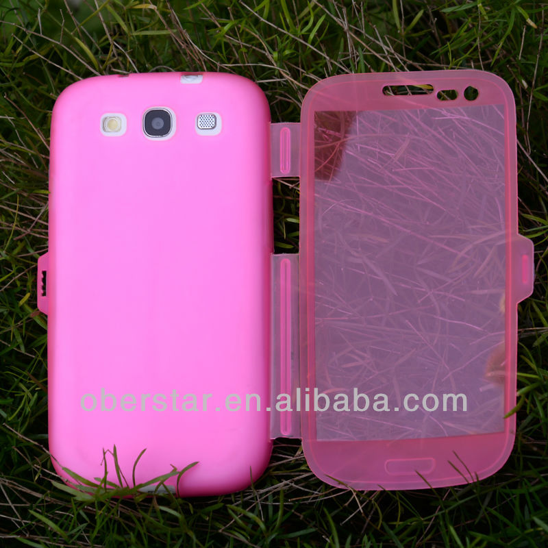Clear Transparent Soft Buckle TPU Case For Samsung Galaxy S3 i9300