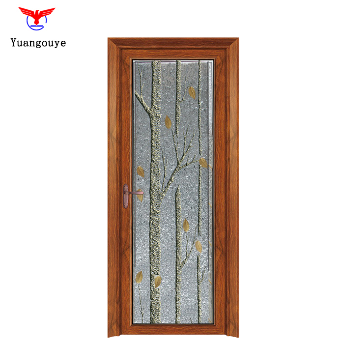 China Manufacture Hollow Aluminium Alloy Casement Door With Thermal Break