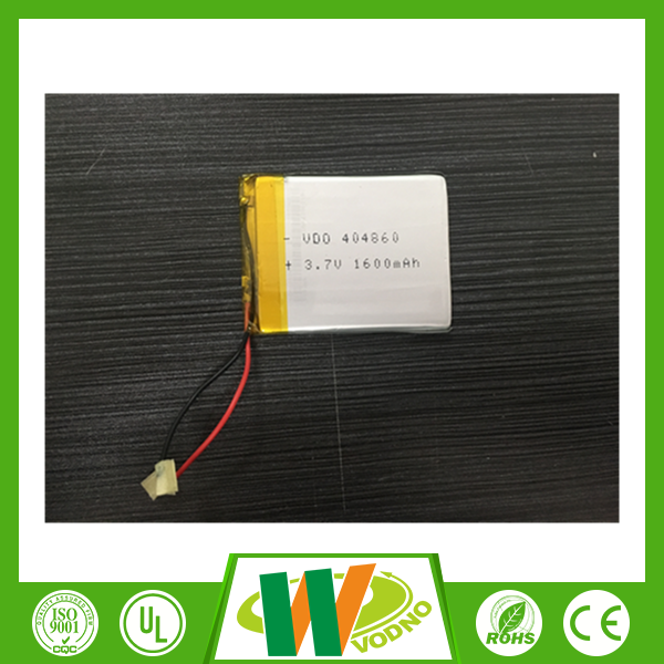 Low price dual channel 180mah 3.7v li-polymer battery for certificates