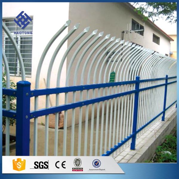 Factory price free design garden bed metal fence