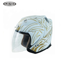 Latest skully full face moto helmets carbon fiber motorcycle hlmet open face