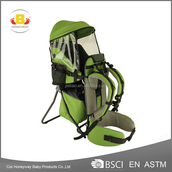 aluminum alloy frame backpack&waterproof baby carrier with EN13209 certificate baby product
