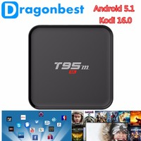 2016 hot selling t95m android smart iptv box Android TV box full HD media player