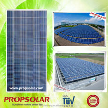 High efficiency 6 inch solar cell 36v 300w thin film solar panel