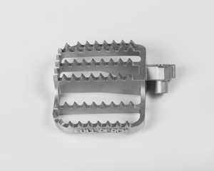 OEM China supply ISO9001 non-standard steel bicycle pedal precision casting parts