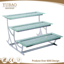 3 Tier Food Serving Tray Stand, Decorative Trays Stand, Designer Food Serving Trays