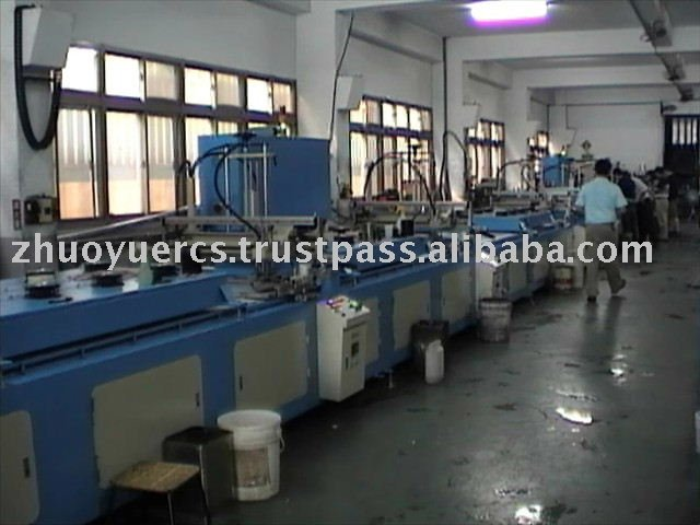 Fully Automatic Screen Printing Machine For Football
