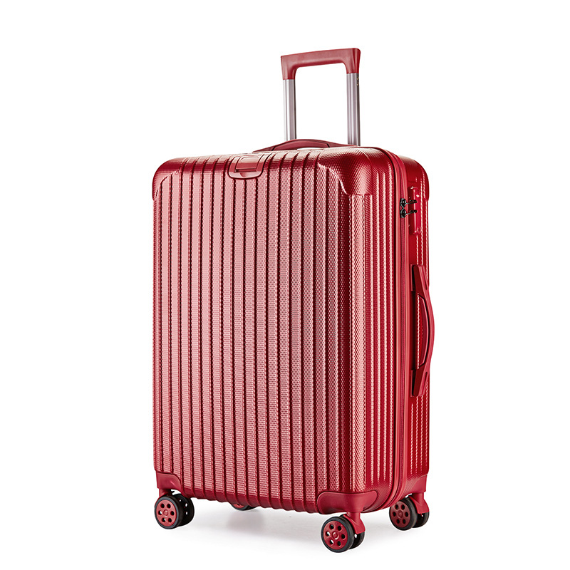 cool design oem high quality trolley luggage hard shell single wheel traveller bag luggage