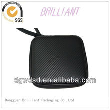 2013 China Black PU Cover&Square EVA CD Case