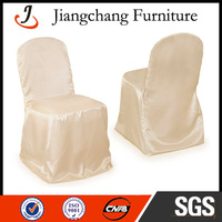 Cheap Satin Chair Covers For Plastic Chairs JC-YT27